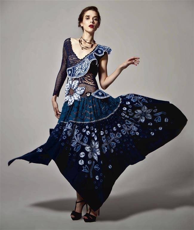 'Knitting Queen' repudiates 'fast fashion'