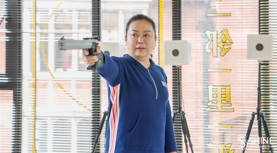 Olympic champion shooting to help people overcome fear of failure