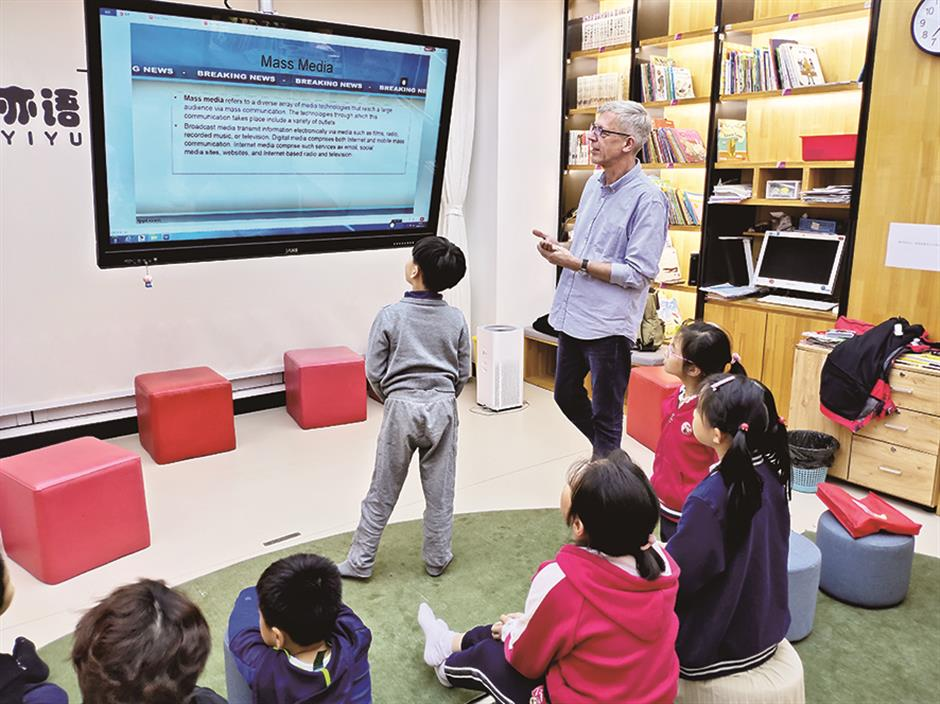 News reading helps to motivate kids to be a good global citizen