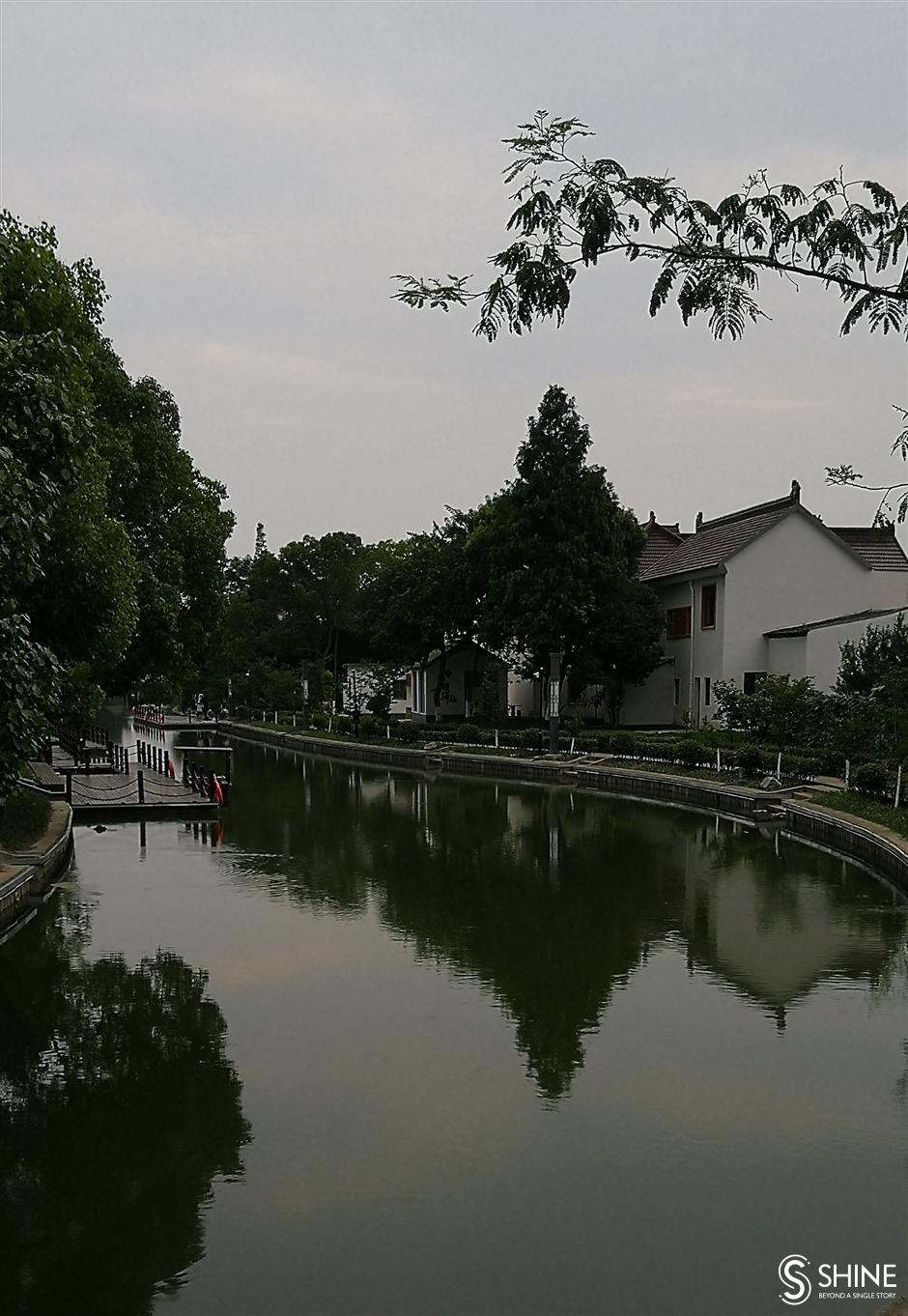 A world away from city life while still in Shanghai