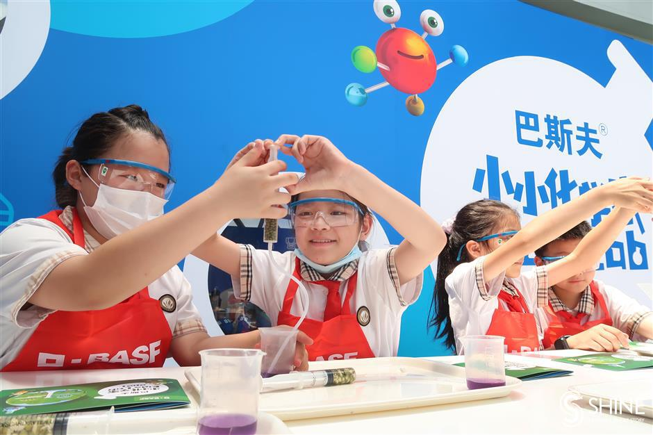Kids' lab exposes children to chemistry's important role