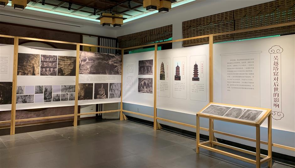Exhibition reflects West Lake's ancient Buddhist history