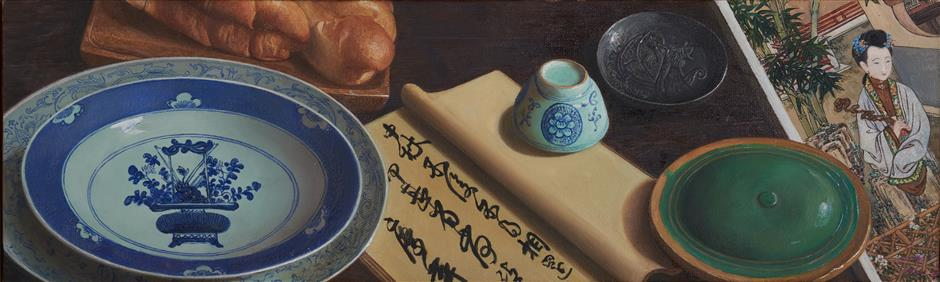 Still lifes standing test of time in artist's solo exhibition