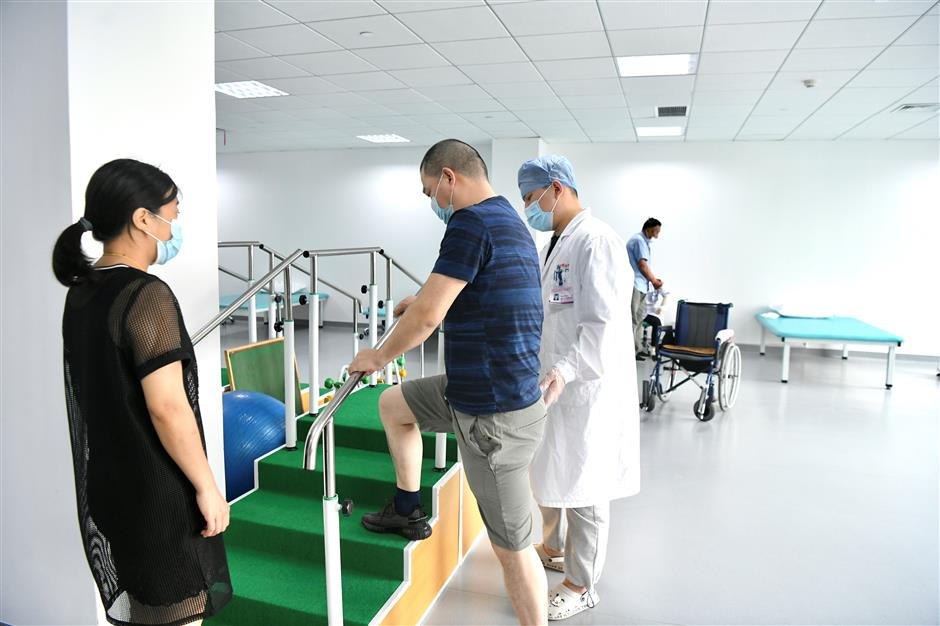 Chongming opens first TCM and rehabilitation hospital