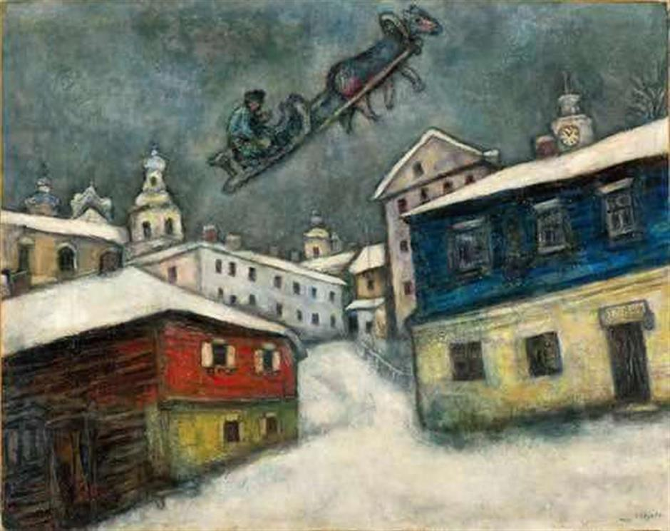 Mark the date, Chagall exhibition to open in city