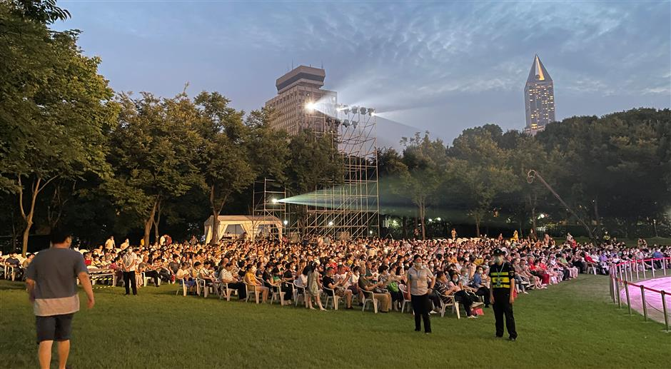 Symphony music fills the summer air as festival harmonizes with nature