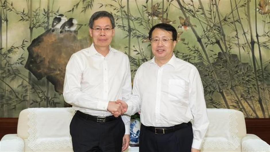 Mayor Gong Zheng meets Singapore ambassador