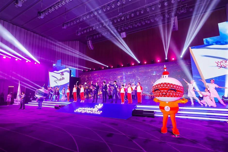 Skills celebration and promotion light up Shanghai