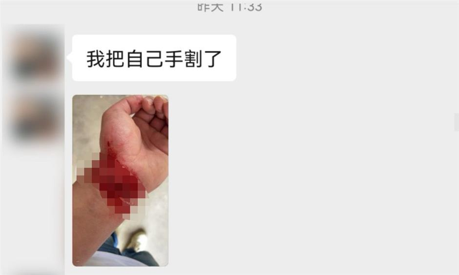 Fake suicide lands Pudong man behind bars