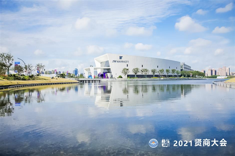Fengxian New City leads region in attracting new businesses