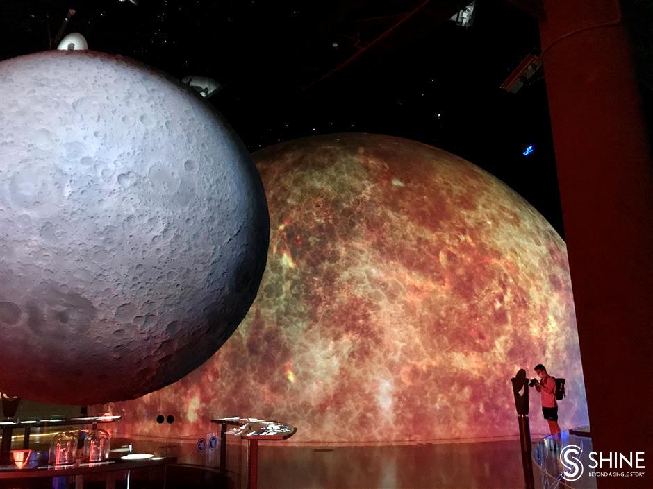 Shanghai Astronomy Museum opens to the public with big bang
