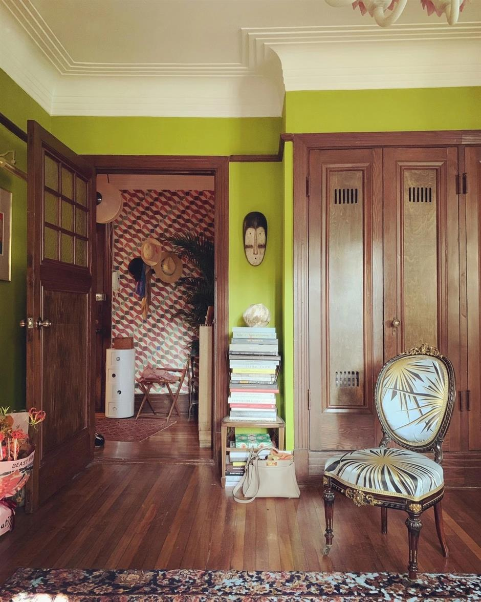 Chic apartment is journey through time and cultures