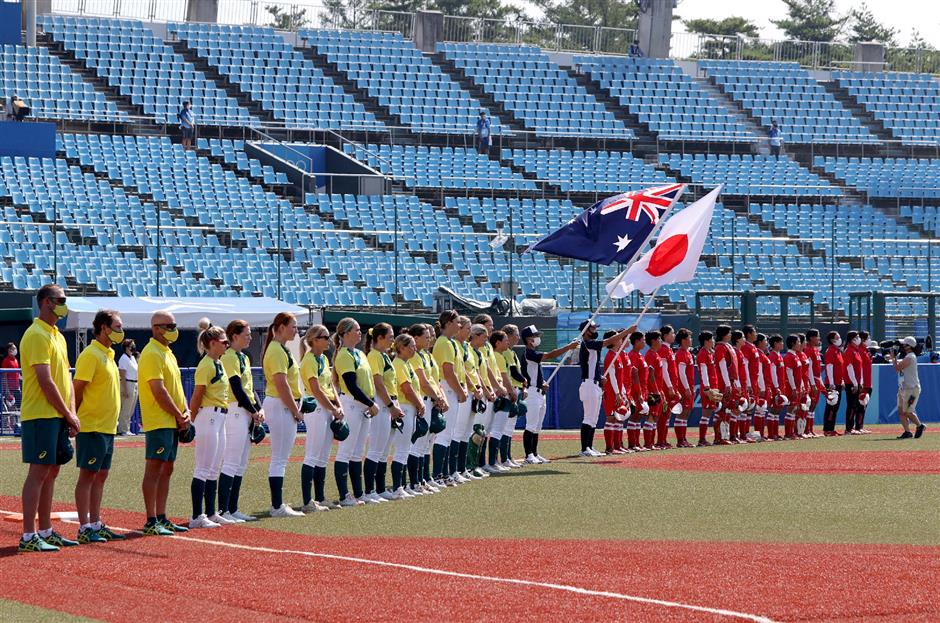 One year late, Tokyo Olympics sports finally underway