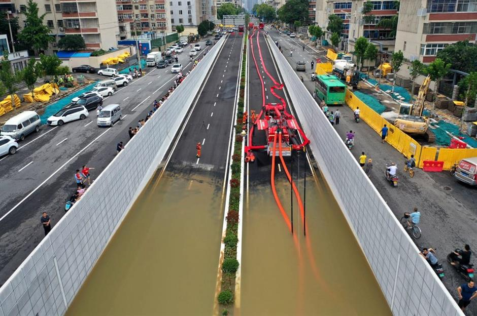 33 dead, 8 missing in China's flood-hit Henan