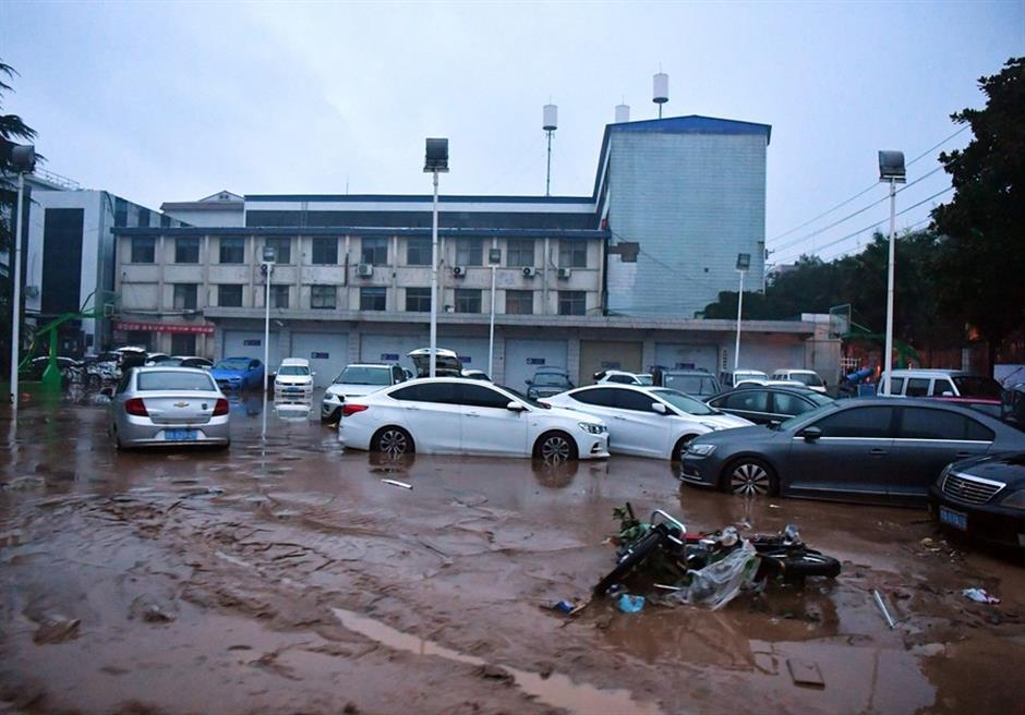 Chinese health authority dispatches medical response group to flood-hit Henan