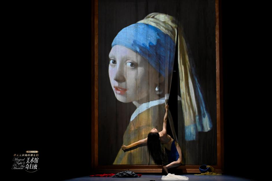 Famous artworks interpreted by ballet in a 'magical' show