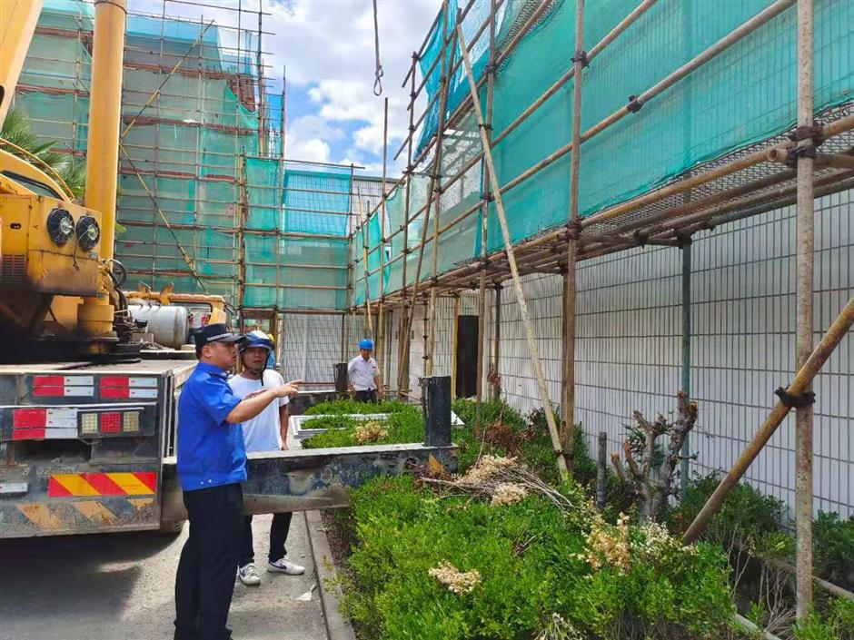 Potential safety hazards cleared up in advance of typhoon