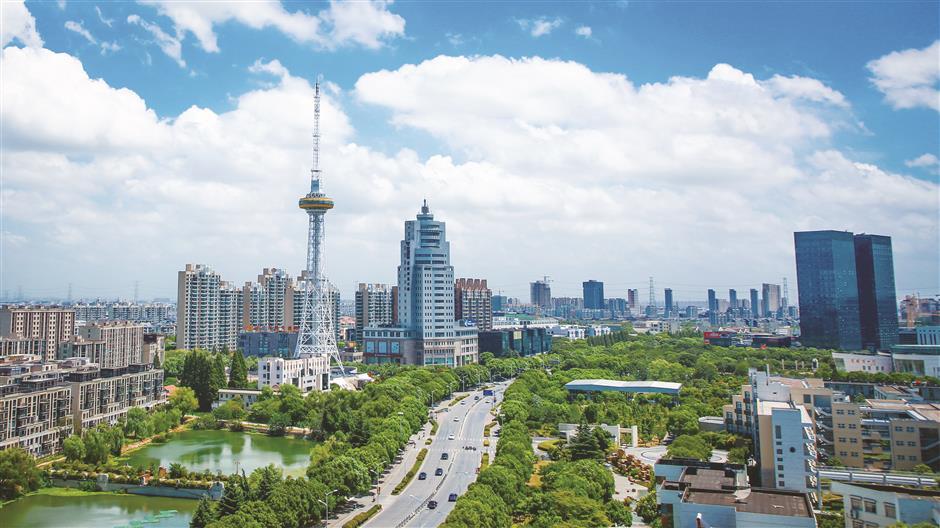 Qingpu District, where progress never stops 'leapfrogging' to the next level
