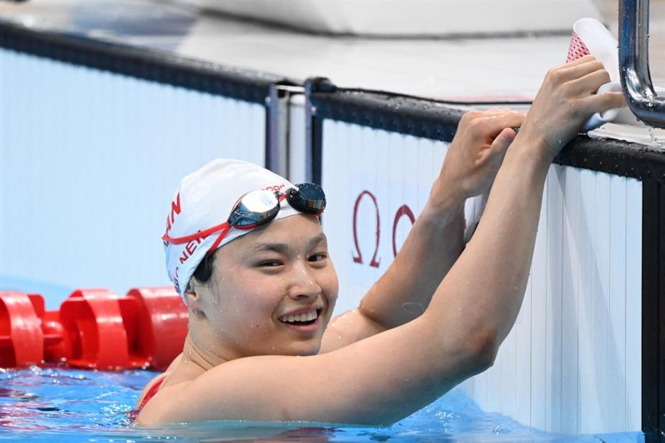 Canada's gold medallist an adoptee from China's Jiangxi