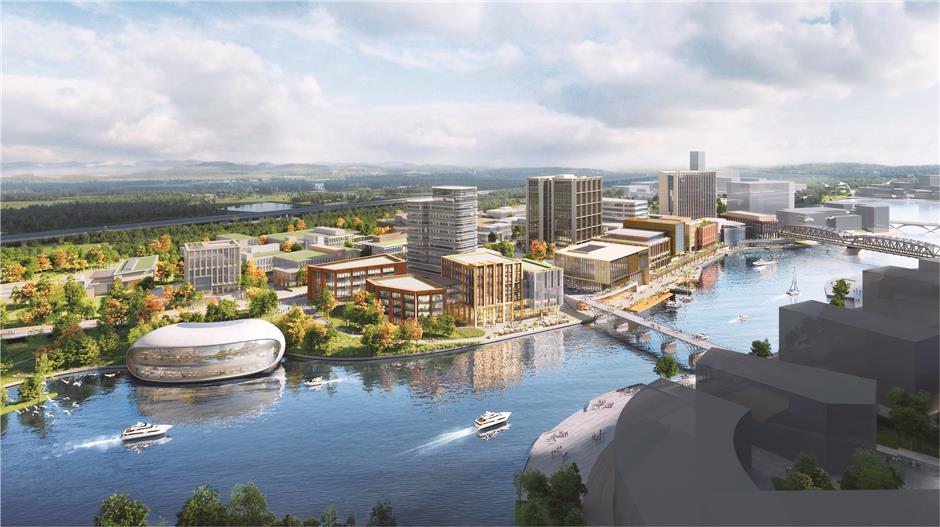 Jinze Town transforms into a sci-tech heartland