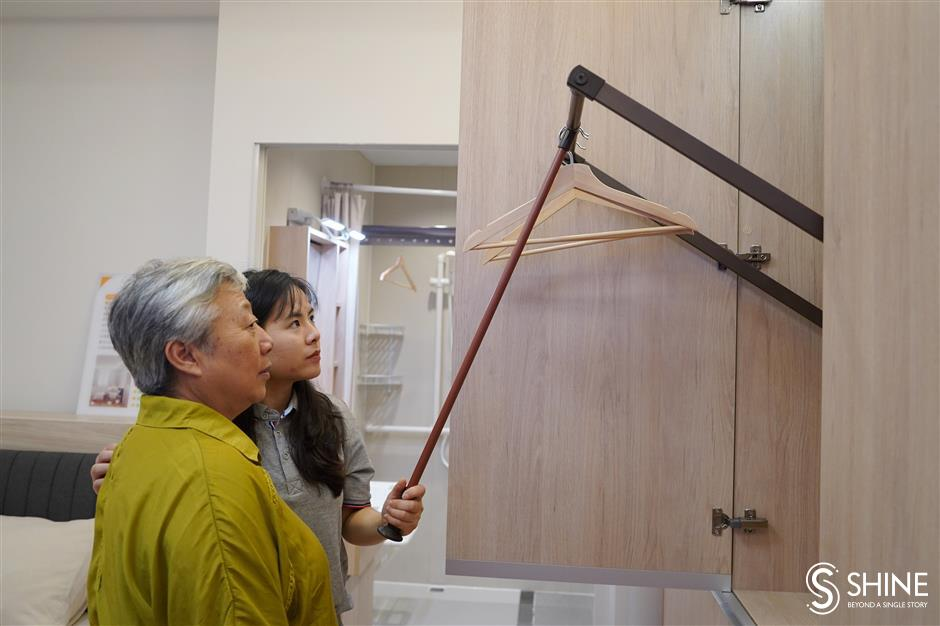 Senior-friendly design included in upgrades to elderly's homes