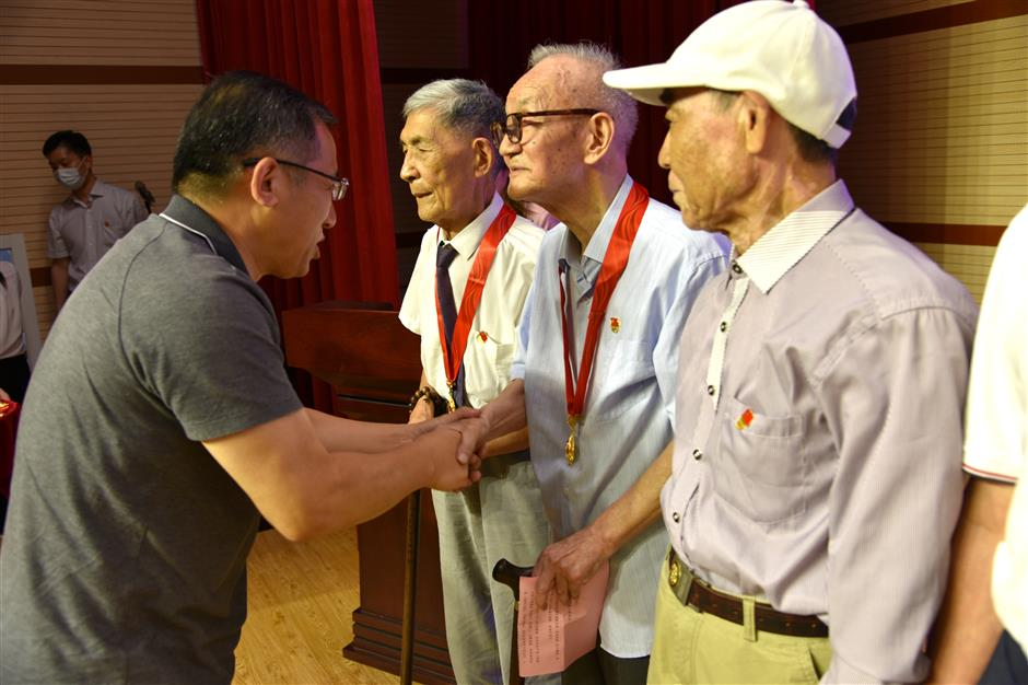 Young and old join celebrations for the Party's centenary