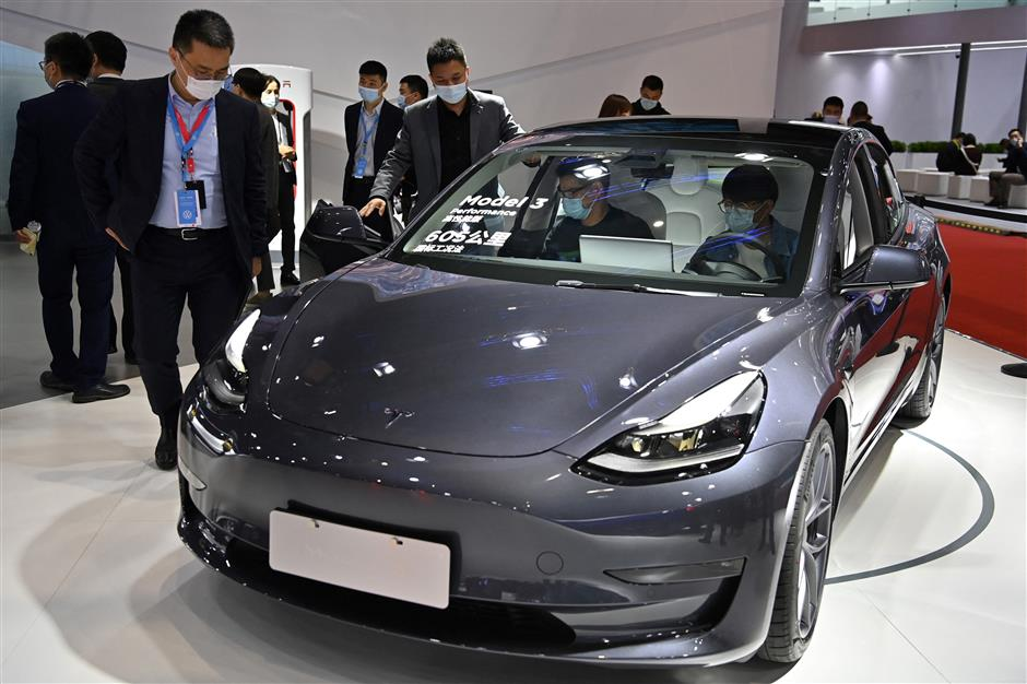 Tesla'squarterly profits top US$1bnfor first time