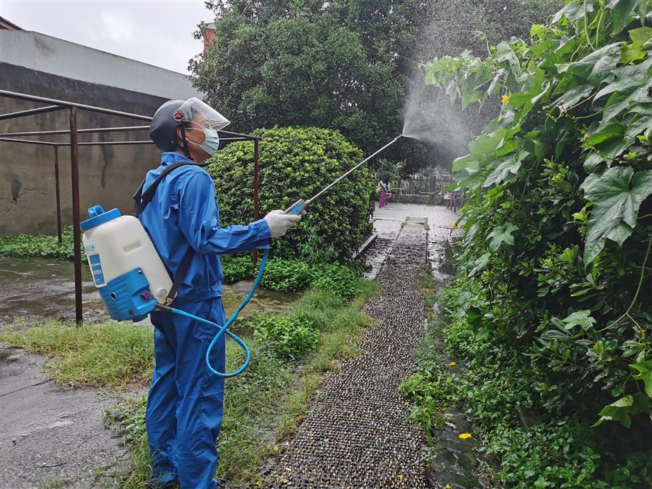 Crackdown launched to fight mozzies after typhoon