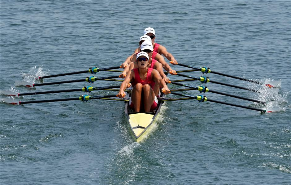 Historic moment for China with Olympic rowing gold
