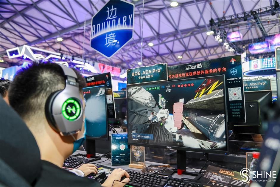 ChinaJoy for gamers as latest technology on display
