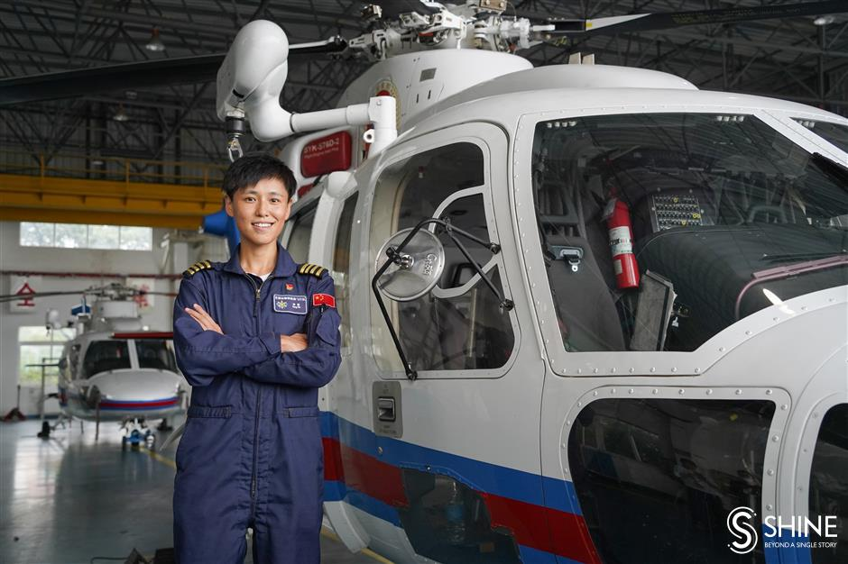 Rescue helicopter pilot Song Yin fulfils her destiny to be a captain