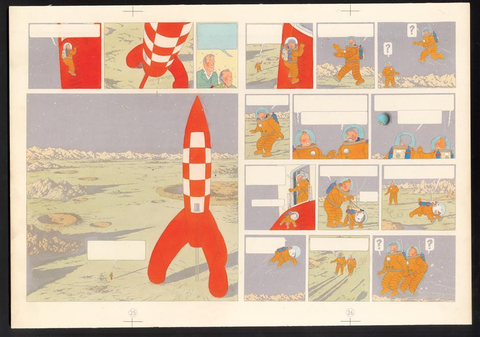 Tintin's worldwide capers splash down in Shanghai