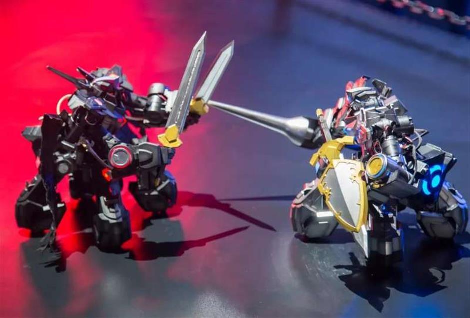 Robots prepare to take over local stadium