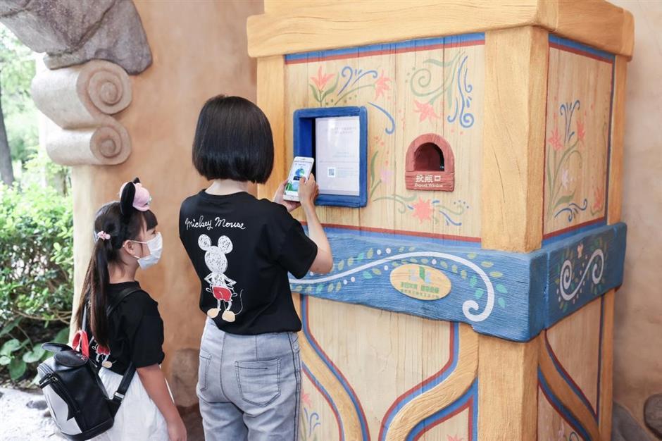 Shanghai Disneyland steps up to help environment