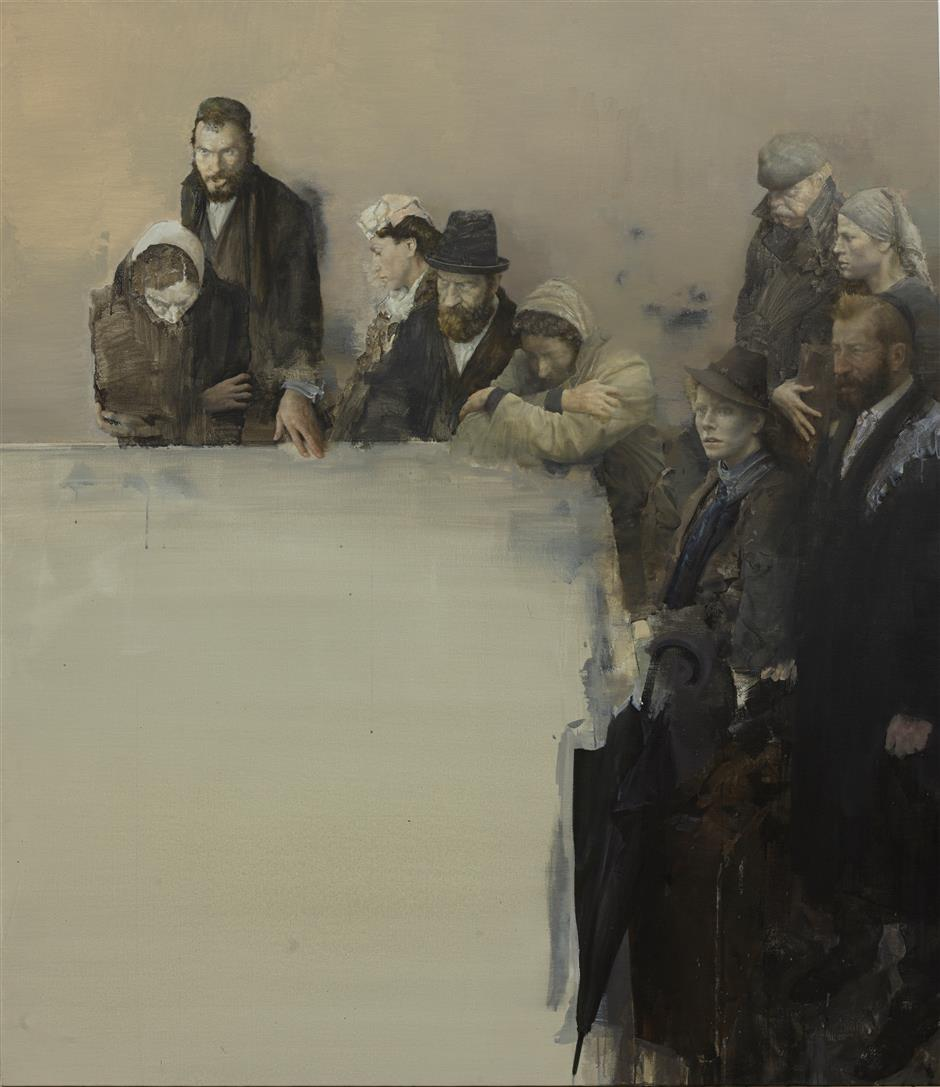 Exhibition explores the essence of oil painting