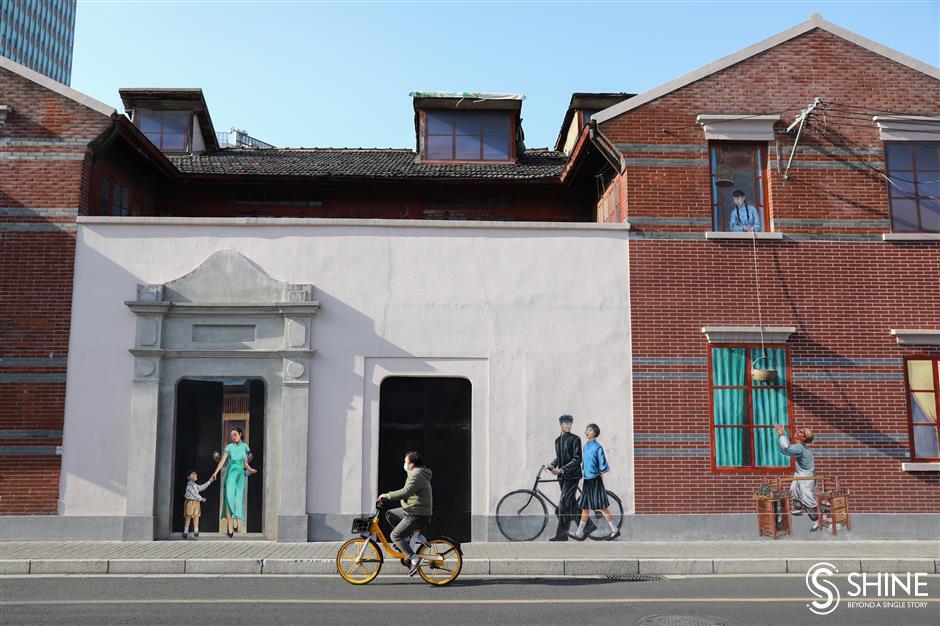 Wall paintings enliven urban spaces, enhance pride in city neighborhoods