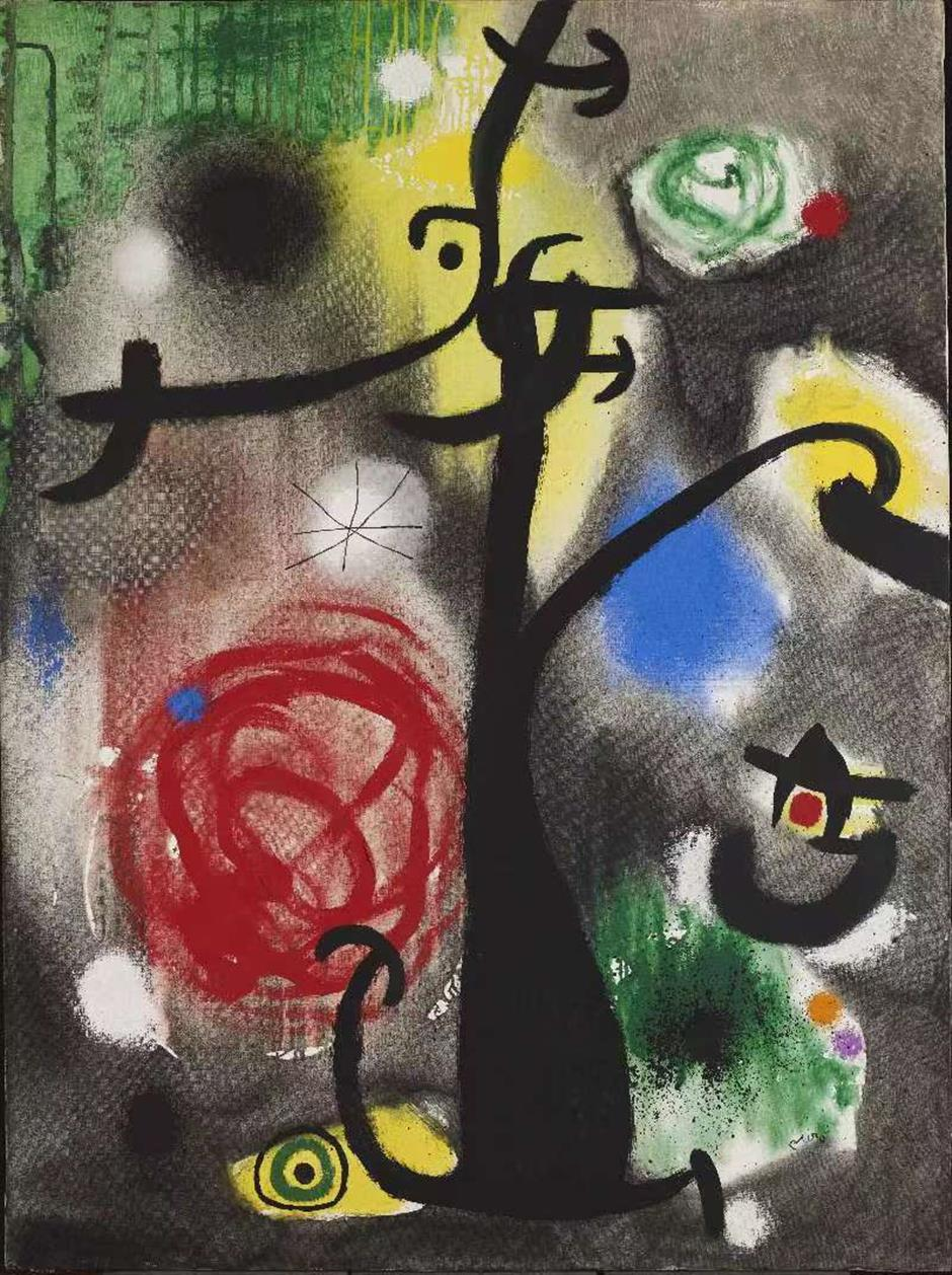 Miró's surreal works grace Shanghai