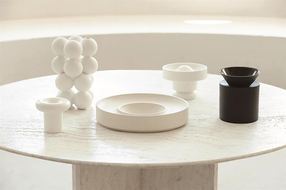 Expressing the order and rhythm of space in ceramics