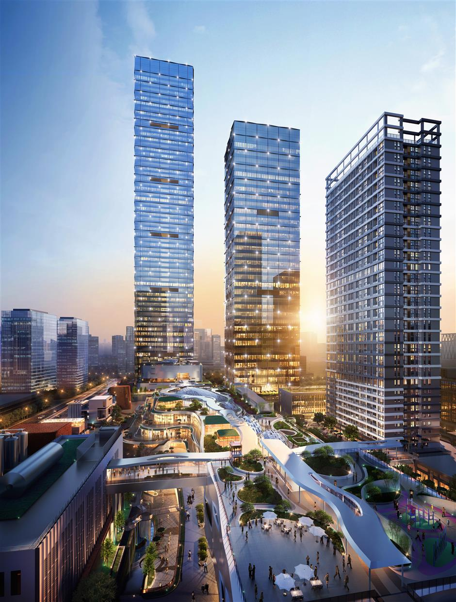 Shanghai resources targeted to back growth of South China district