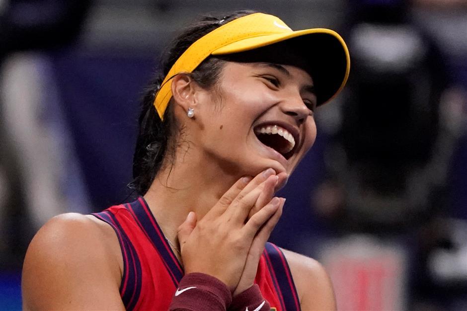 Chinese influences boost Raducanu's historic US Open run