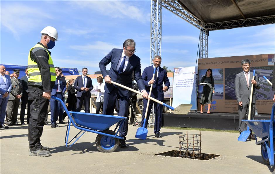 1st Chinese COVID-19 vaccine plant in Europe starts construction