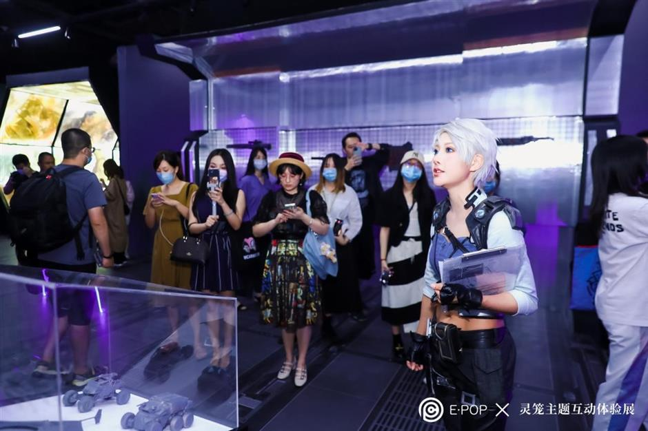 Interactive exhibition of Chinese anime wows visitors