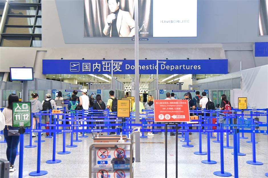 Operations fully restored at city airports after typhoon