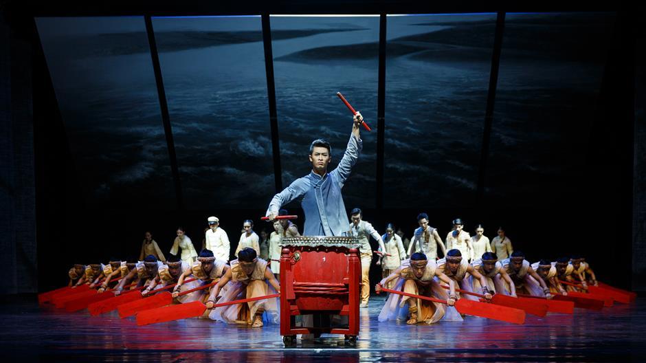 Guangdong culture interpreted via dance drama