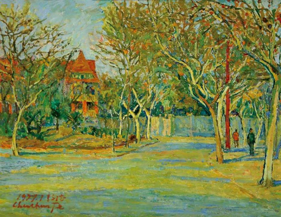 'Reclusive' artist of impressionist painting
