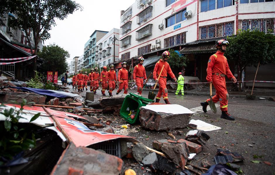 Three killed, dozens injured as shallow quake hits China's Sichuan