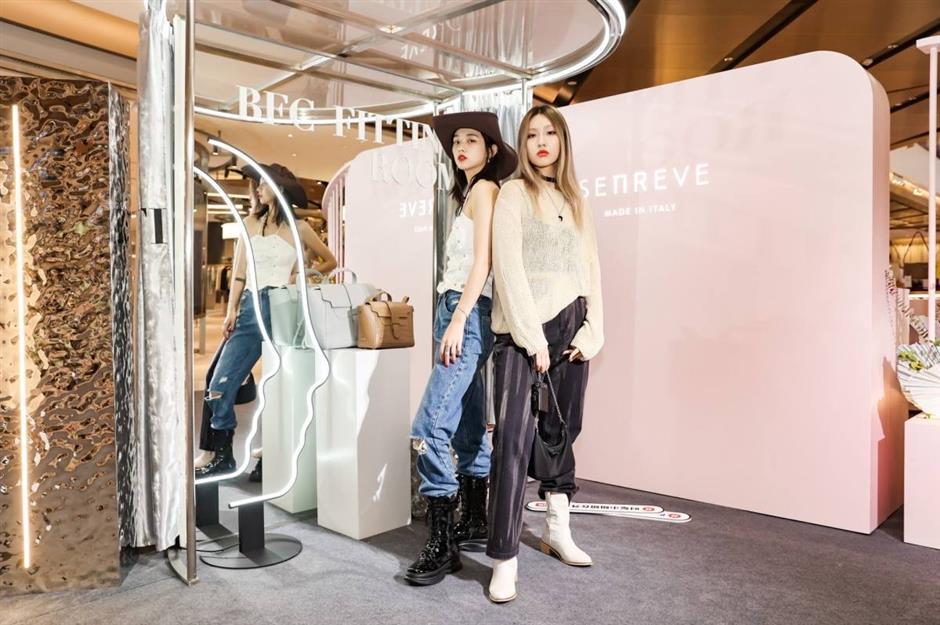 Diverse fashion programs staged at the Bund