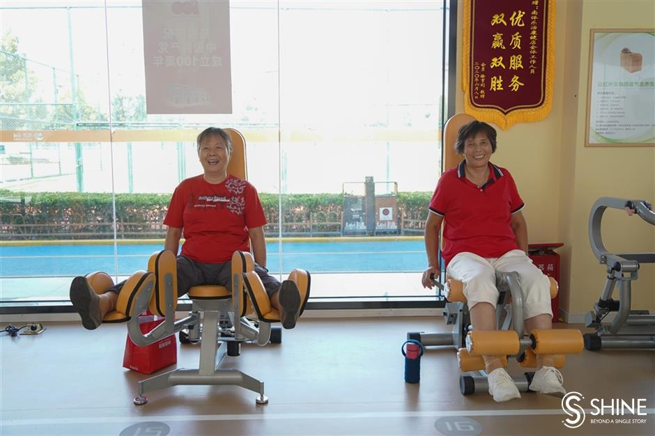 Senior gyms keep the aging population fit