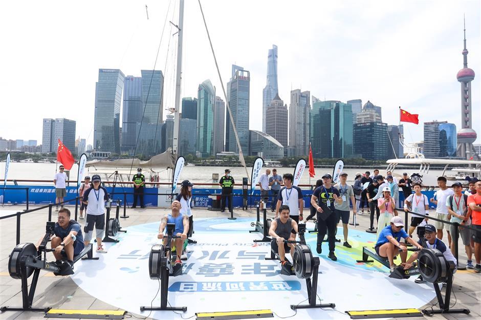 Rowing carnival highlights Hongkou's rich sporting heritage