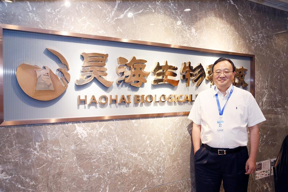 Founder of biotech company succeeds
